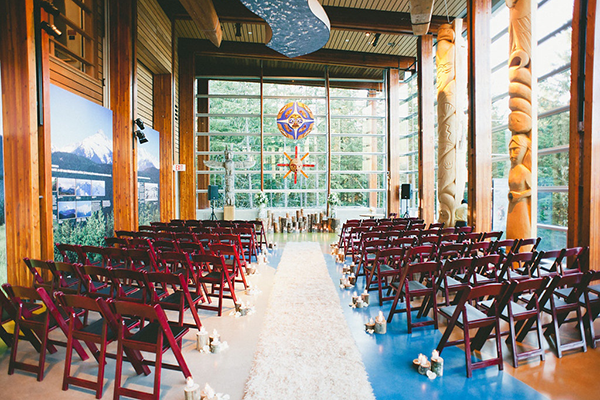 Whistler Wedding Venue - Squamish Lil'Wat Cultural Centre