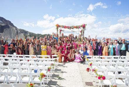 Feature Wedding – An explosion of colour and joy.
