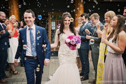 Feature Wedding – Kerry & Michael. A prescription for love.