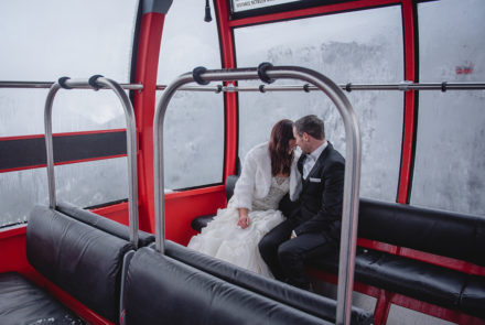 Feature Wedding – Love kept them warm. Weather or not!