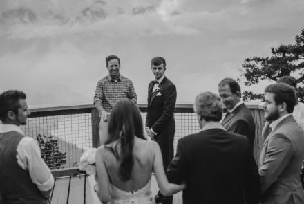 Real Wedding – Kaylea and Tony, a wedding in the clouds filled with love.