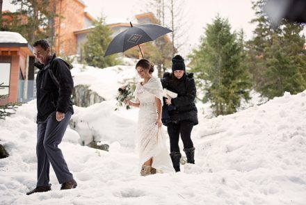 Winter weddings – one for the team.
